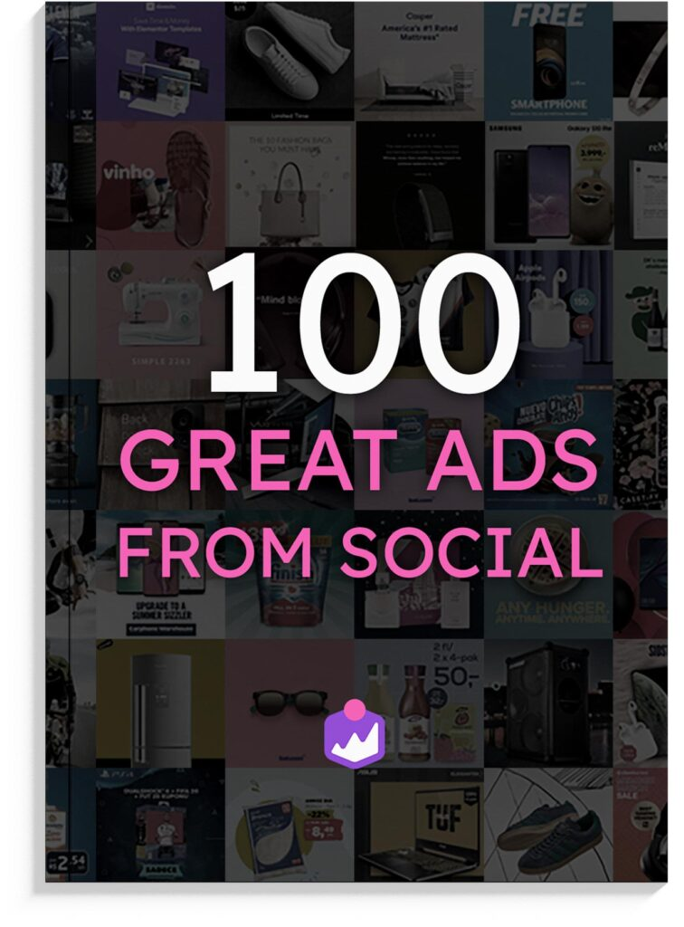 100 great ads from social
